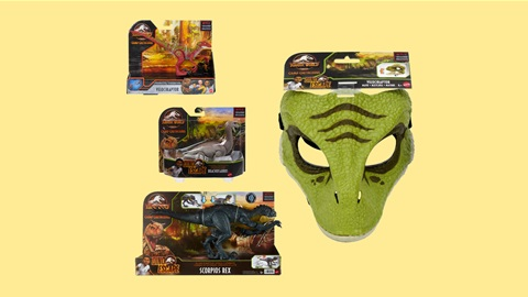 K-ZONE OCT'21 A JURASSIC WORLD: CAMP CRETACEOUS PRIZE PACK GIVEAWAY