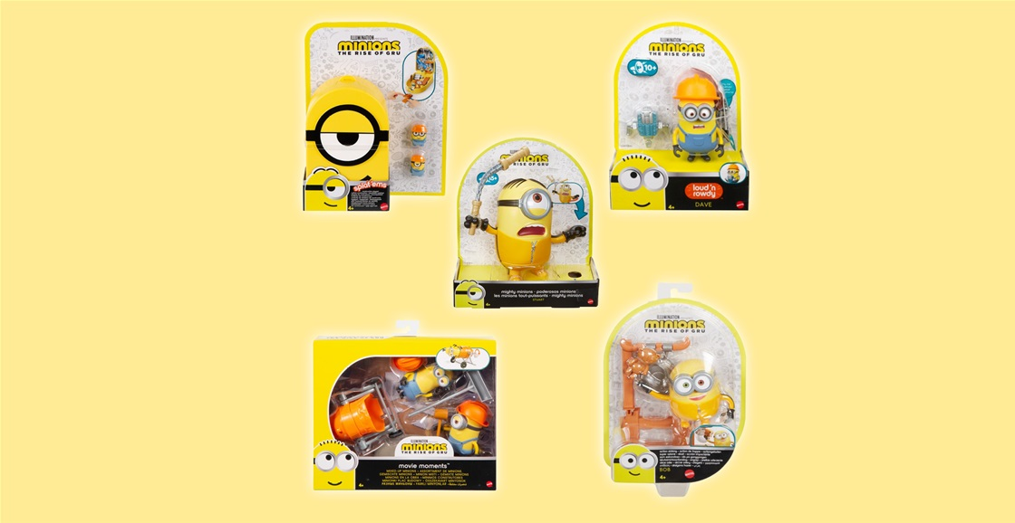 K-ZONE OCT'21 A MINIONS: THE RISE OF GRU PRIZE PACK GIVEAWAY