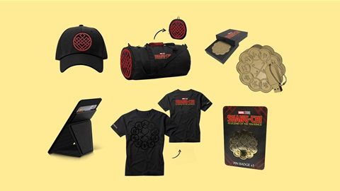 K-ZONE OCT'21 A SHANG-CHI AND THE LEGEND OF THE TEN RINGS MOVIE MERCH PACK GIVEAWAY