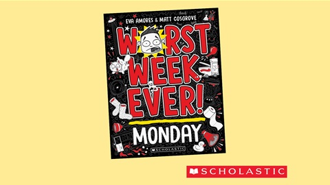 K-ZONE OCT'21 WORST WEEK EVER!: MONDAY BOOK  GIVEAWAY