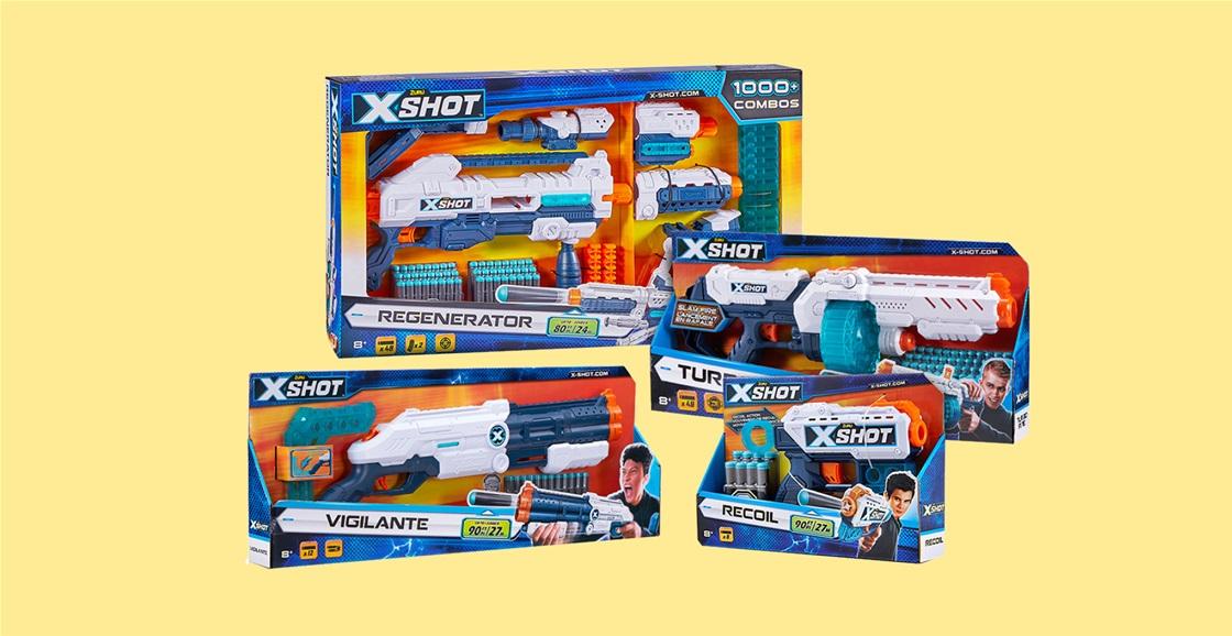 K-ZONE OCT'21 A ZURU X-SHOT PRIZE PACK  GIVEAWAY
