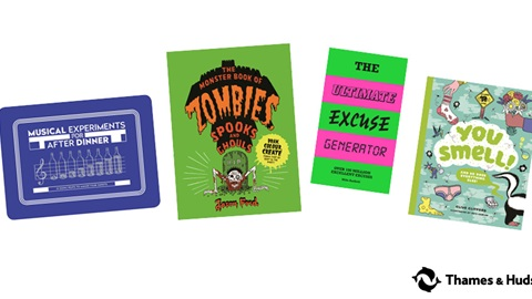 K-ZONE NOV'19 GRUESOME, SMELLY AND NOISY BOOKS AND GAMES GIVEAWAY