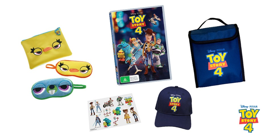 K-ZONE NOV'19 TOY STORY 4 DVD AND MERCH PACK GIVEAWAY