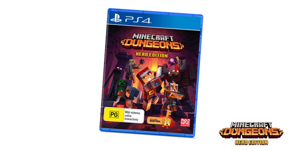 K-ZONE NOV'20 MINECRAFT DUNGEONS: HERO EDITION FOR PS4 GIVEAWAY