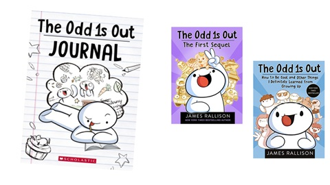 K-ZONE NOV'20 THE ODD 1S OUT BOOK PACK  GIVEAWAY