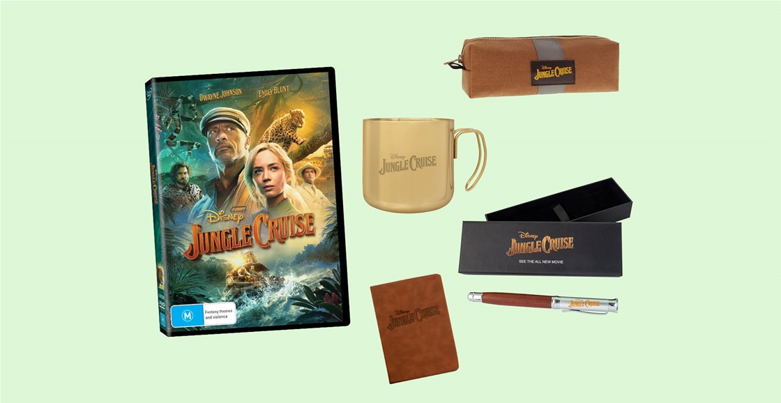 K-ZONE NOV'21 A JUNGLE CRUISE DVD AND MERCH PRIZE PACK GIVEAWAY