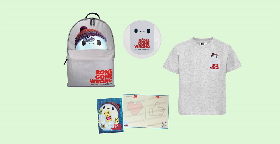 K-ZONE NOV'21 A RON'S GONE WRONG MOVIE MERCH PACK GIVEAWAY