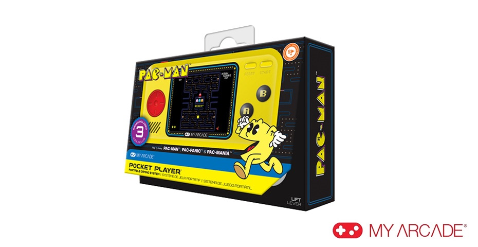 K-ZONE DEC'19 MY ARCADE PAC-MAN POCKET PLAYER GIVEAWAY