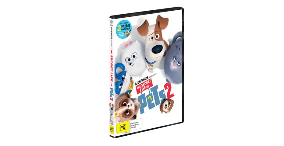 K-ZONE DEC'19 SECRET LIFE OF PETS 2 DVD GIVEAWAY
