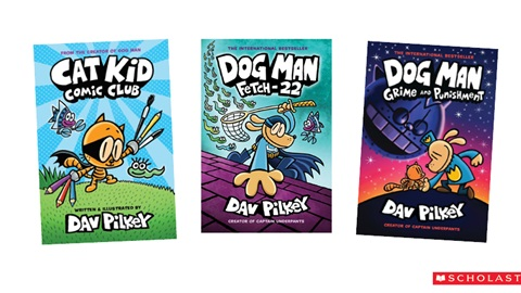 K-ZONE DEC'20 A DAV PILKEY BOOK PACK GIVEAWAY