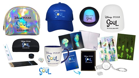 TOTAL GIRL JAN'21 A SOUL MOVIE MERCH PACK GIVEAWAY