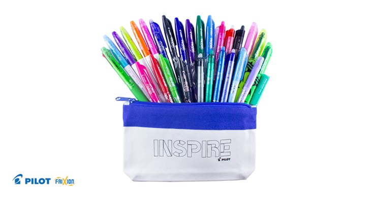 TOTAL GIRL JAN'21 A PILOT FRIXION PEN PRIZE PACK GIVEAWAY