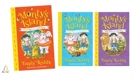 TOTAL GIRL JAN'21 MONTY'S ISLAND BOOK PACK GIVEAWAY