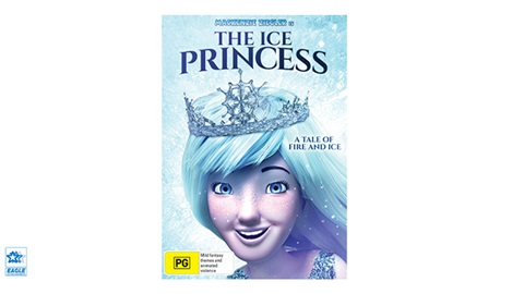 TOTAL GIRL JAN'21 THE ICE PRINCESS DVD GIVEAWAY