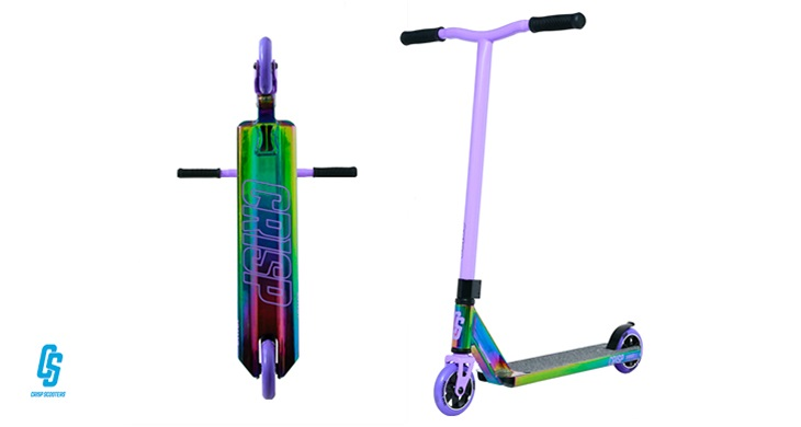 TOTAL GIRL JAN'21 A CRISP SURGE SCOOTER IN NEO CHROME & CLOUDY PURPLE GIVEAWAY
