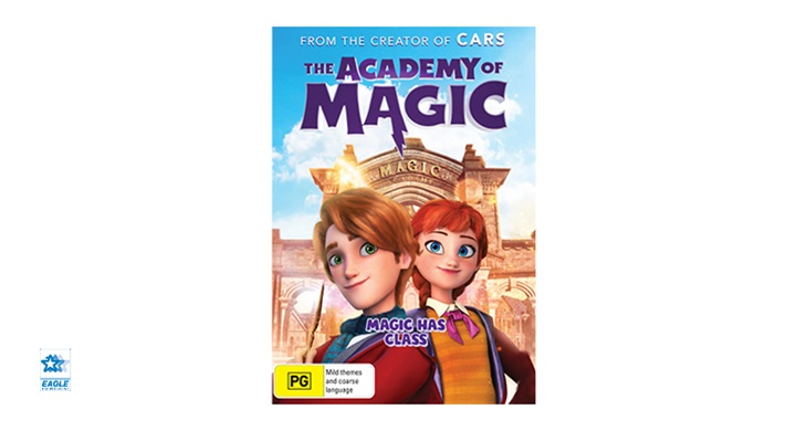 TOTAL GIRL FEB'21 THE ACADEMY OF MAGIC DVD GIVEAWAY