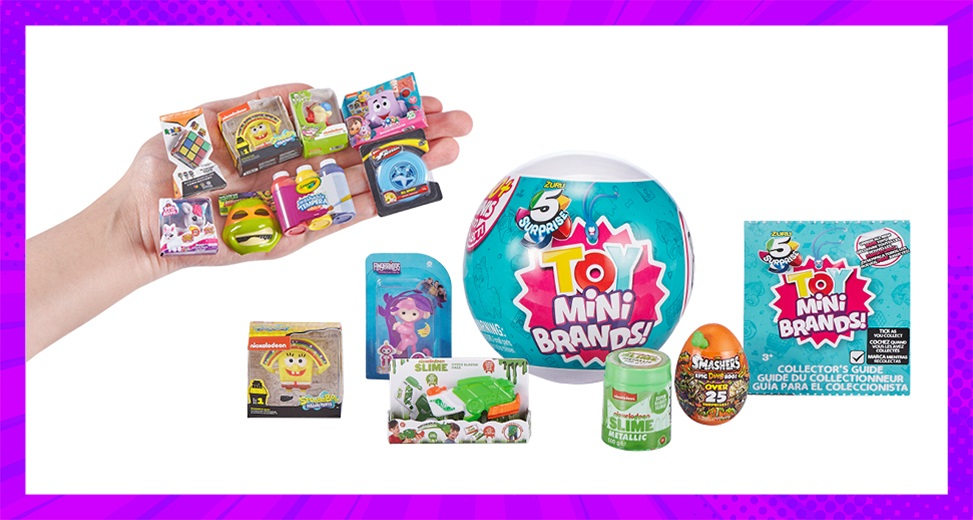 TOTAL GIRL JUN'21 A 5 SURPRISE TOY MINI BRANDS GIVEAWAY