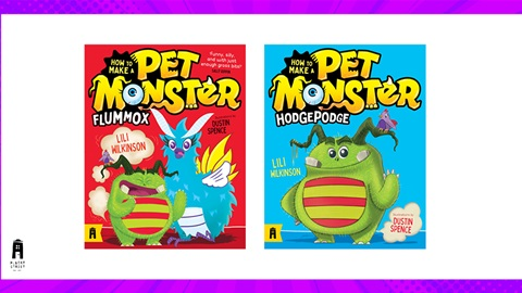 TOTAL GIRL JUN'21 A HOW TO MAKE A PET MONSTER BOOK PACK GIVEAWAY