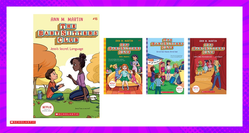TOTAL GIRL JUN'21 THE BABY-SITTERS CLUB BOOK PACK GIVEAWAY