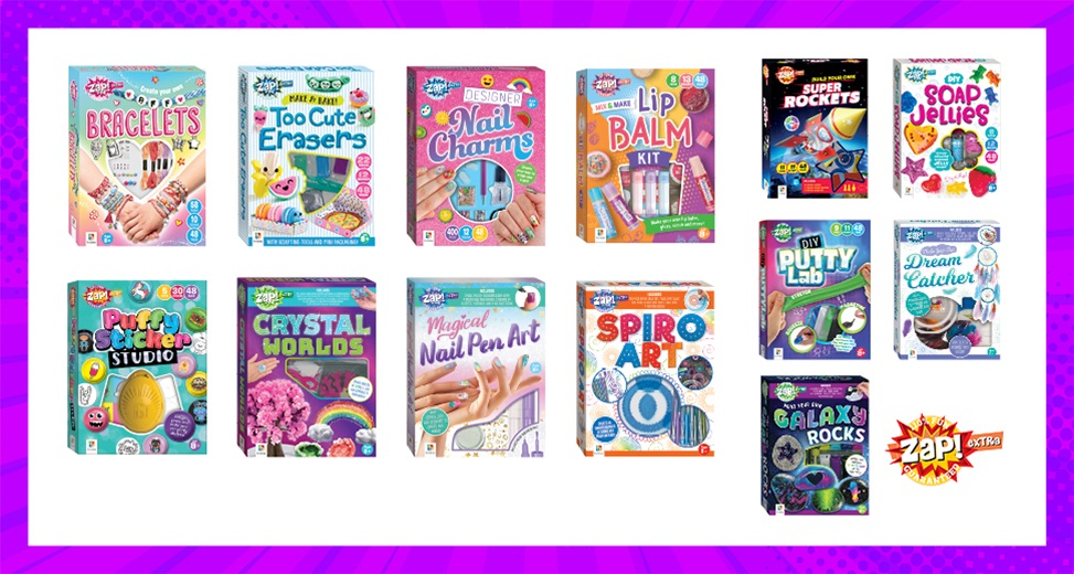 TOTAL GIRL JUN'21 A ZAP! BY HINKLER PRIZE PACK GIVEAWAY