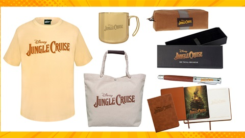 TOTAL GIRL AUG'21 JUNGLE CRUISE MOVIE MERCH PACK GIVEAWAY