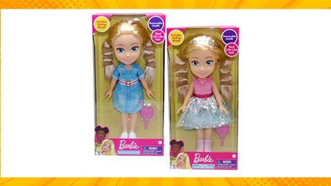 TOTAL GIRL AUG'21 A BARBIE TODDLERS PRIZE PACK GIVEAWAY