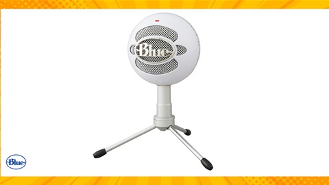 TOTAL GIRL AUG'21 A SNOWBALL iCE WHITE CONDENSER MICROPHONE GIVEAWAY