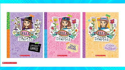 TOTAL GIRL OCT'21 AN ELLA DIARIES BOOK PACK GIVEAWAY