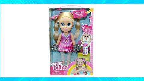 TOTAL GIRL OCT'21 A LOVE, DIANA MASHUP DOLL CHEERLEADER X ROLLER-SKATER GIVEAWAY