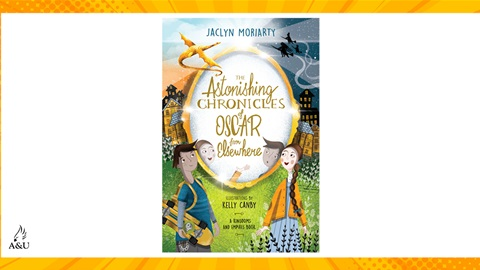 TOTAL GIRL NOV'21 A COPY OF THE ASTONISHING CHRONICLES OF OSCAR FROM ELSEWHERE GIVEAWAY