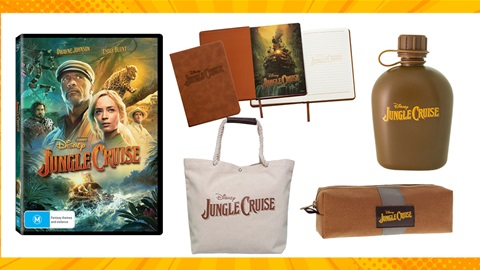 TOTAL GIRL NOV'21 A JUNGLE CRUISE DVD AND MERCH PRIZE PACK GIVEAWAY