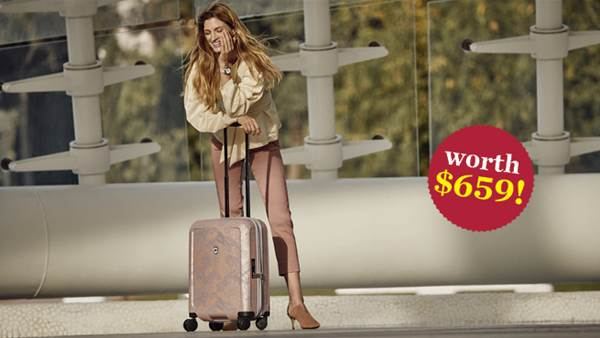 WIN a Stylish Victorinox Suitcase Worth $659!