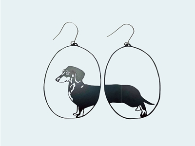 denz + co earrings