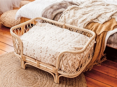 pretty earthy pup dog bed