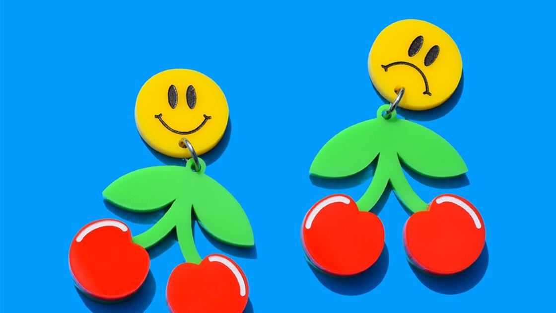 frump earrings