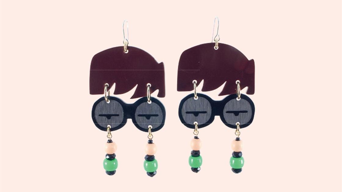 maraca earrings