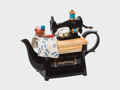 red sparrow tea company teapot