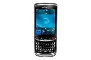 First look: BlackBerry Torch 9800