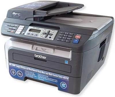 how to connect a brother printer mfc-7840w to a network