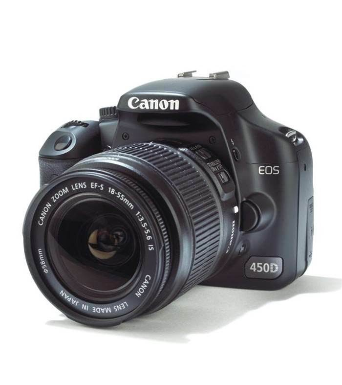 Canon EOS 450D - we have a new winner