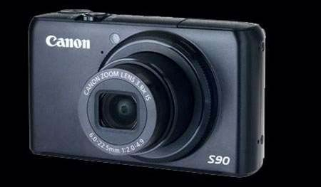 Canon PowerShot S90, a superbly conceived compact camera