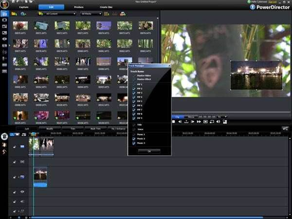 CyberLink captures movie magic with PowerDirect 8, rivals top editing suites