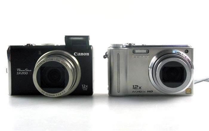 Unboxed: Canon Powershot SX200 IS and Panasonic Lumix DMC-TZ7