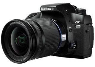 Samsung's GX-20 is let down to by high price and chunky stylings