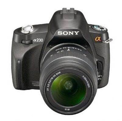 Sony's Alpha A230 can't match the superior value of other DSLRs