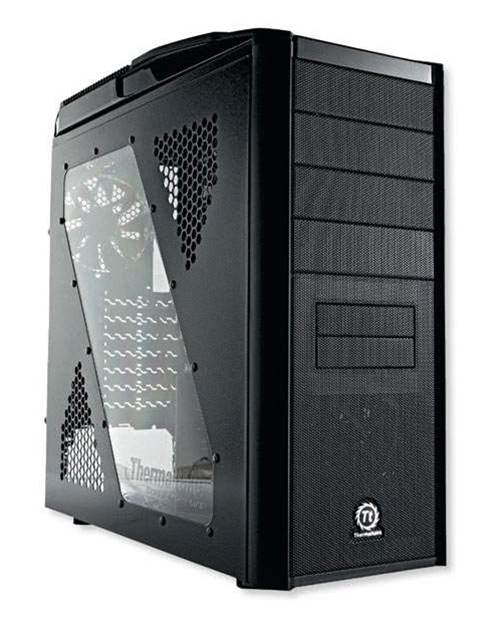 Thermaltake's V9 BlacX Edition hot-swaps it out