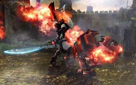 Warhammer 40,000 Dawn Of War II,  the RPG becomes all-out combat