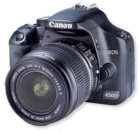 Canon EOS 450D, best quality DSLR under $1,500