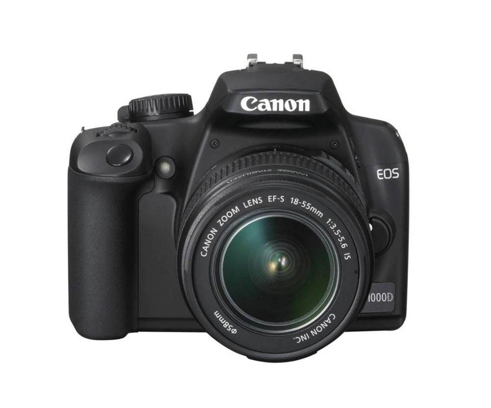 Canon's EOS 1000D is one of the best value DSLRs under $780