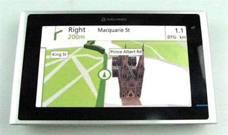 First Look: Navman up against Tomtom with Platinum Series S150